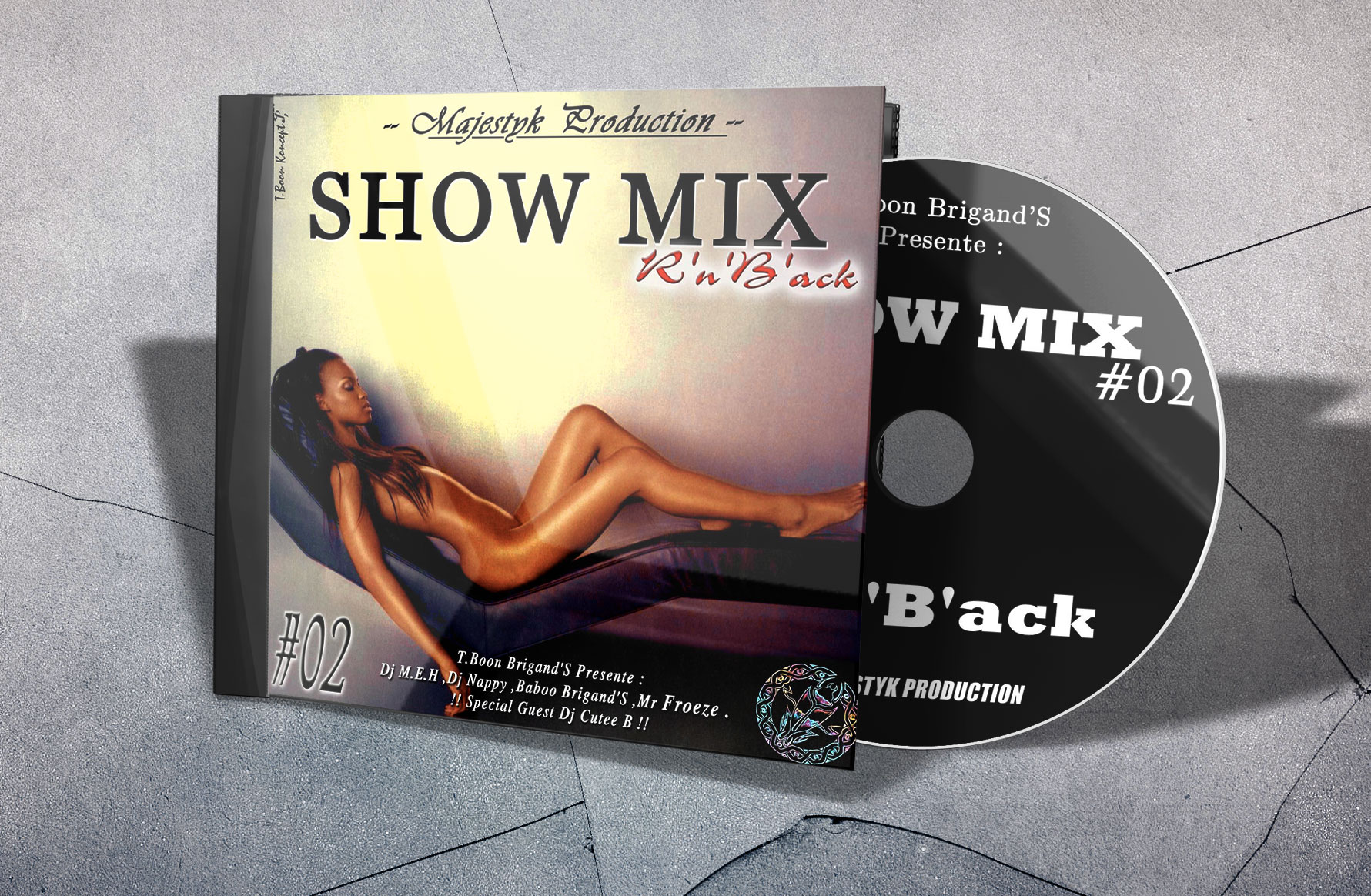 Show Mix R'n'B'ack by T.Boon Brigands'S